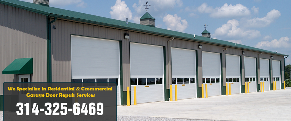 commercial garage door st. louis mo